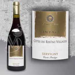 Côtes du Rhône Villages Servigny Cuvée Prestige 2014