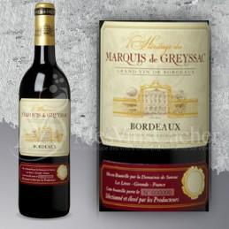 Bordeaux L'héritage du Marquis Greyssac  2015