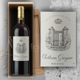 Magnum Médoc Château Greysac 2015 in Wooden Box