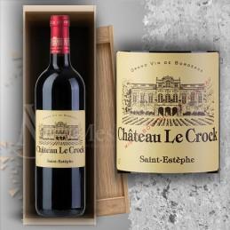 Magnum Saint Estèphe Château Le Crock 2016 en Plumier Bois