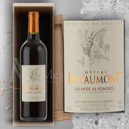 Magnum Lalande de Pomerol Château Royaumont 2016 en Plumiers Bois