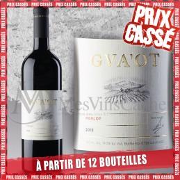 Gvaot Merlot 2018 (Prix KC à partir de 12 bouteilles)