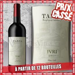 Tanya Ivri Merlot 2018 (Prix KC à partir de 12 bouteilles)