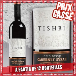 Tishbi Vineyards Cabernet Syrah 2019 (Prix KC à partir de 12 bouteilles)
