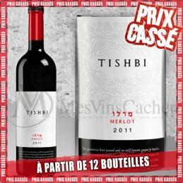 Tishbi Vineyards Merlot 2019 (Prix KC à partir de 12 bouteilles)