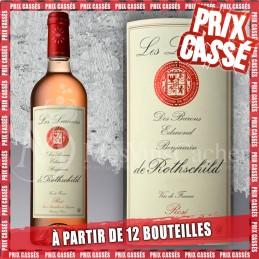 Les Lauriers Rosé des Barons Edmond de Rothschild 2019 (Prix KC à partir de 12 bouteilles)
