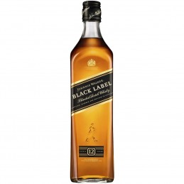 Whisky Black Label 70 cl  en Coffret